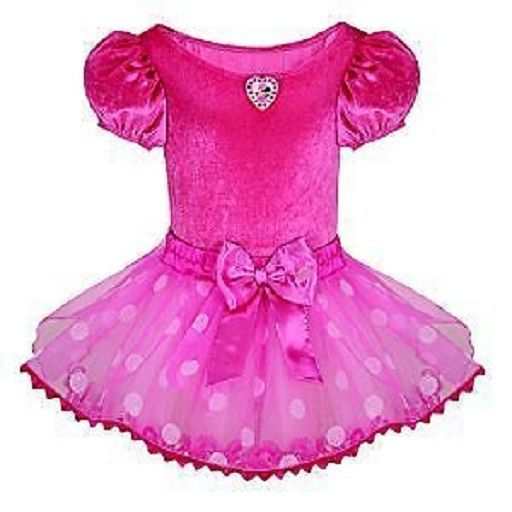 Disney Store Minnie Mouse Pink Costume Dress NWT Girls