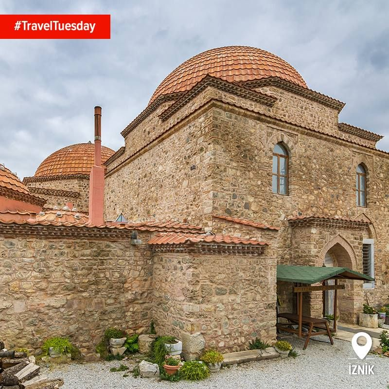 How many other places can you visit a newly restored 600 year old hamam? Murad II's hamam in Iznik is perfect for this #TravelTuesday
