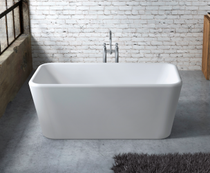 Dublin | Oceania | Free standing bath tub, Bathtub, Small ...
