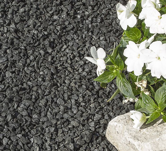 Charcoal Granite Gravel 10mm Decorative Aggregates Gravel Landscaping Landscaping With Rocks Landscaping Rock