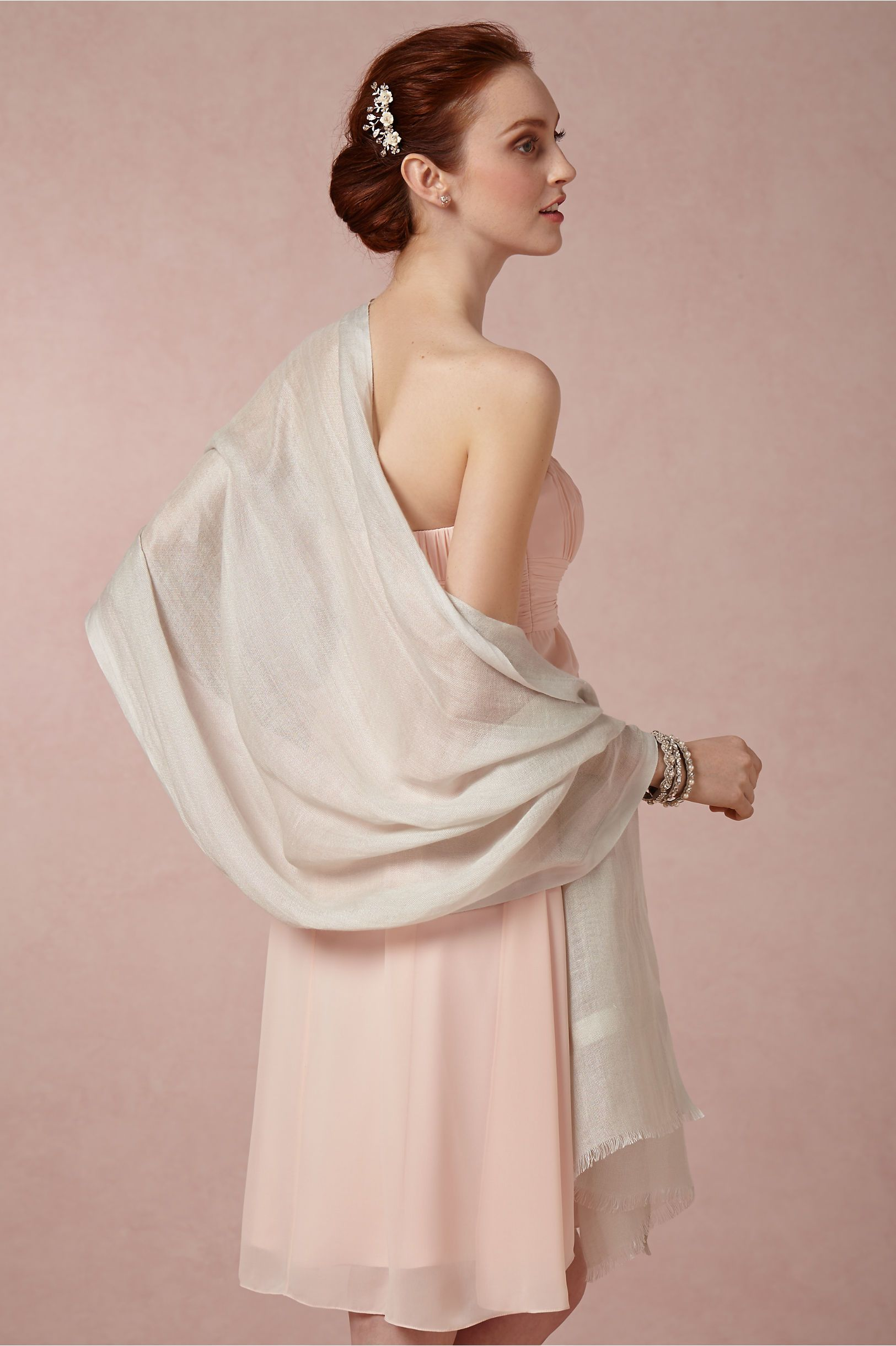 BHLDN Carlotta Wrap in Shoes & Accessories Cover Ups at BHLDN ...