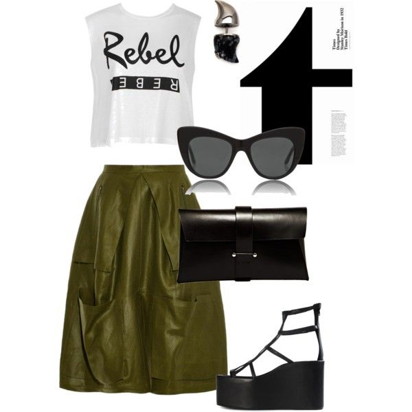 Without a cause ! by invisible9988 on Polyvore featuring polyvore, fashion, style, Ally Fashion, Danielle Romeril, Jeffrey Campbell, Jil Sander, Vivienne Westwood and STELLA McCARTNEY