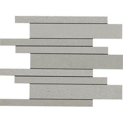"Decorative Bullnose Tile Trim Daltile Unity 12"" X 3"" Unpolished Bullnose Tile Trim In Ashgray"