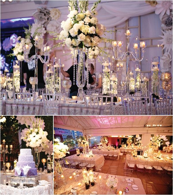 Purple And White Wedding At Sam Houston Hotel By 1 Cinema Productions