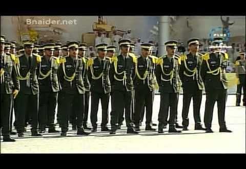 حفل تخرج كلية علي صباح السالم العسكرية دفعة الطلبة الضباط 43 سنه