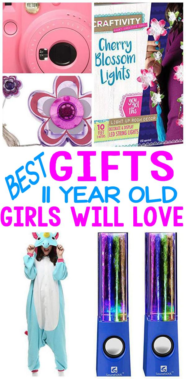 11 Year Old Girls Gifts Birthday Presents For Girls Birthday Gifts For Girls Tween Girl Gifts