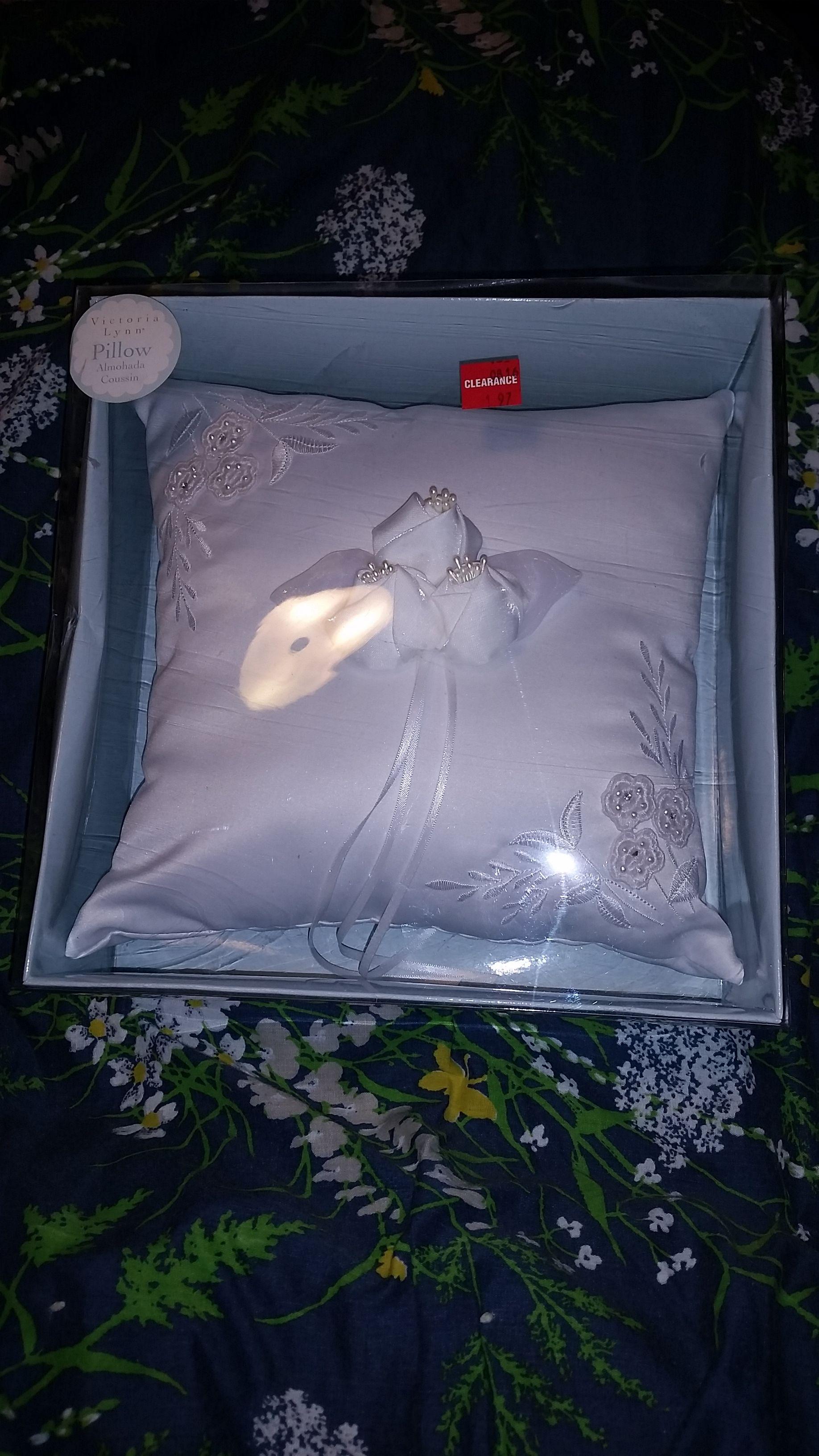 Zebra Ring Bearer Pillow #1