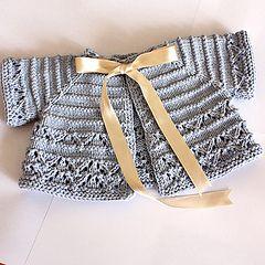 Ravelry: Baby Cardigan/Shrug pattern by Julia Noskova (DK weight)