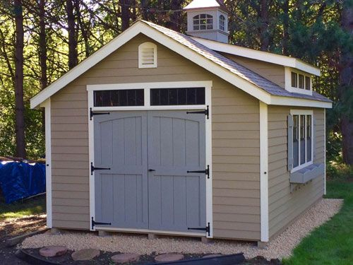 This Is A Classic Garden Shed Shown With The Doors On The Long Side. U0026nbsp