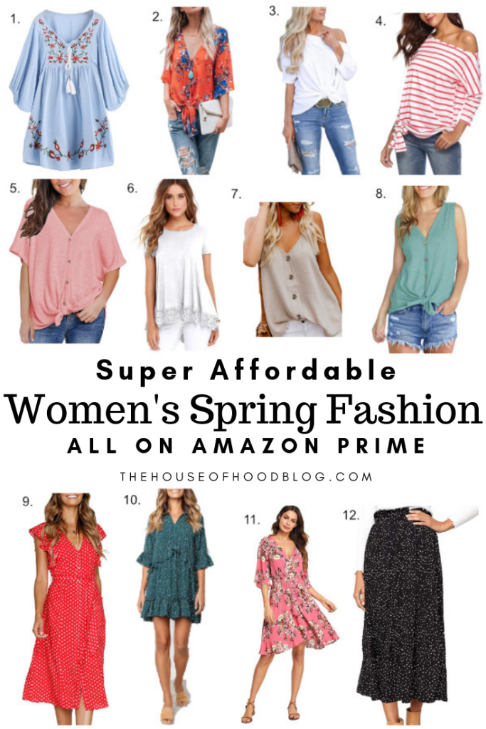 Super Affordable Women S Spring Fashion Picks From Amazon Prime Amazon Dresses Fashion Womens Fashion Spring
