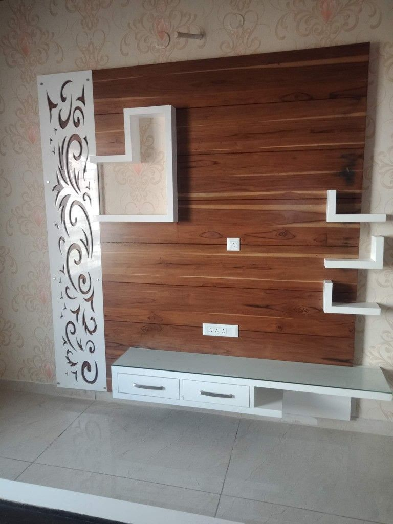 Latest Tv Unit Design: Lcd Wall Design, Wall Unit Designs, Wall Tv