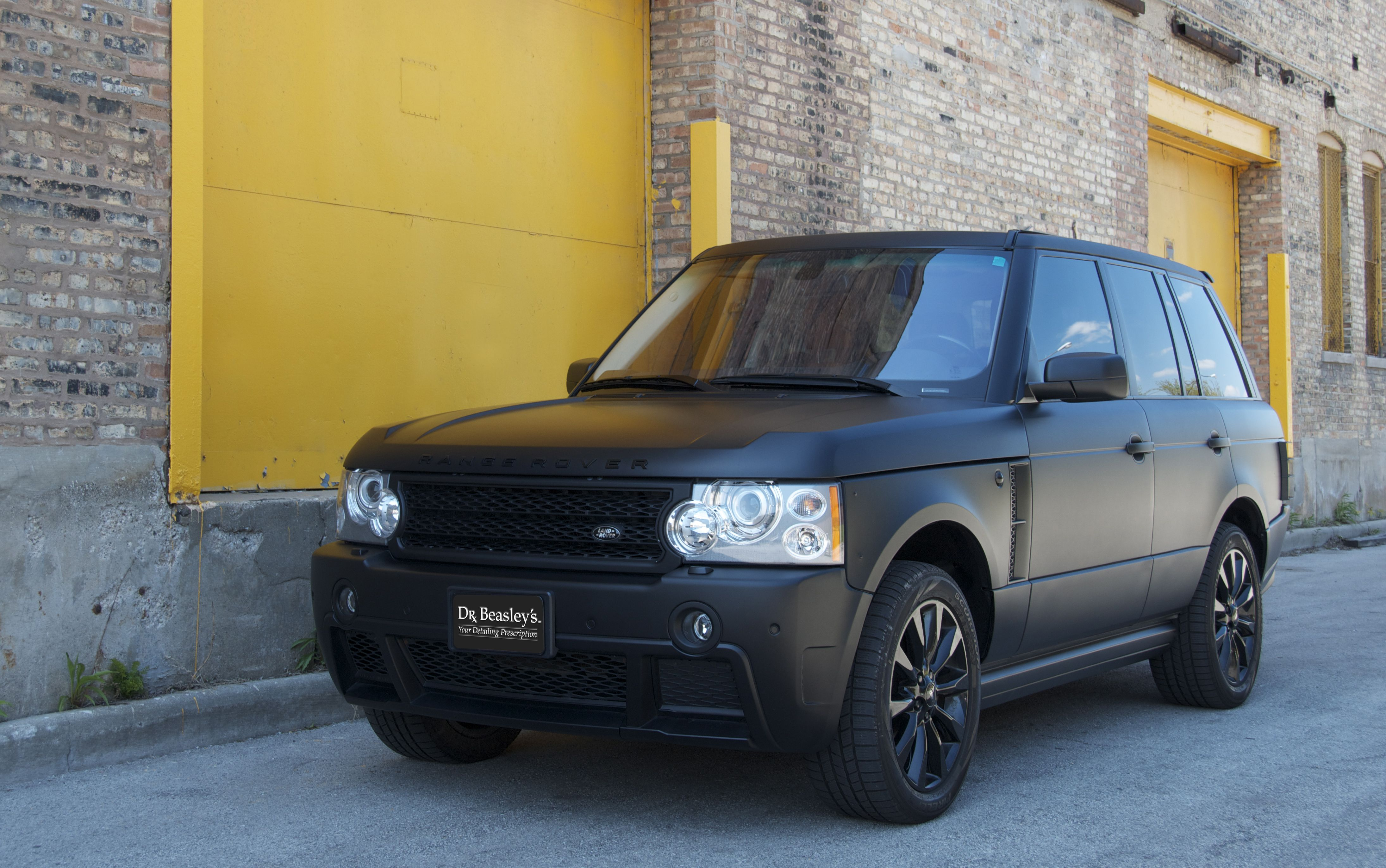 Range Rover In Matte Black Hawt Range Rover Supercharged Range Rover Land Rover