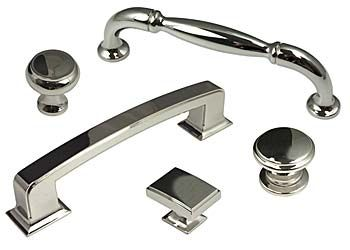 Berenson Polished Nickel Collection.