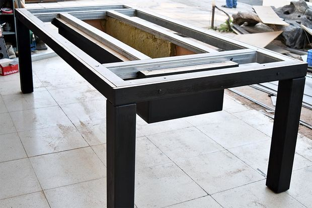 Diy Barbecue Table Diy Barbecue Bbq Table Diy Grill Table