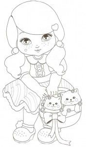 Desenho Jolie 2 Bonecos Para Pintar Desenhos Coloridos E