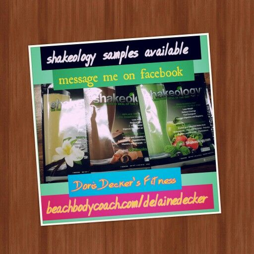 Shakeology samples