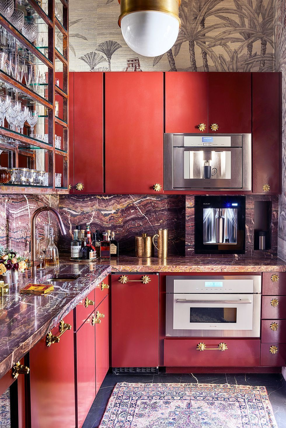 These Are Our 40 Favorite Kitchen Paint Colors Kitchen Layout Kitchen Design Small Kitchen Cabinet Design