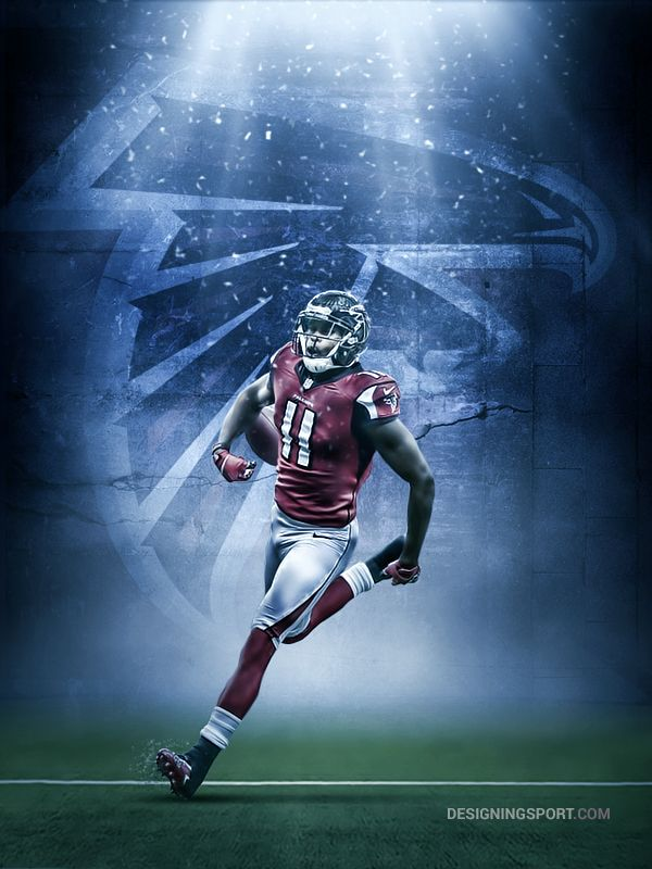 Julio Jones Atlanta Falcons Sport Art Designing Sport Atlanta Falcons Atlanta Falcons Football Falcons Football