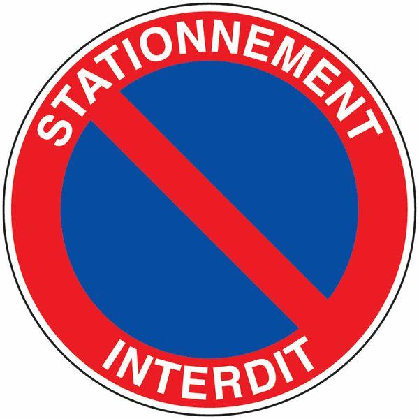 Panneau Interdiction De Stationner À Imprimer Gratuit panneau stationnement interdit signals 600 ...