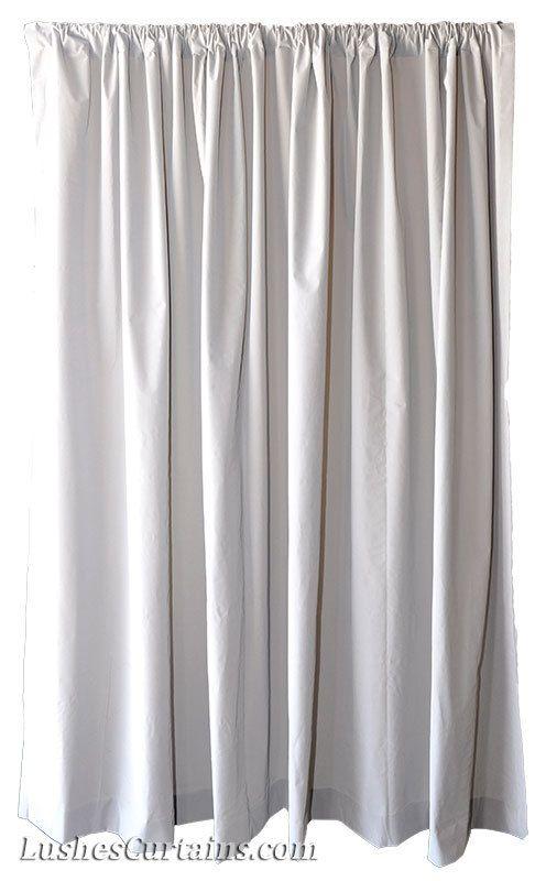 New Beautiful Gray Custom Cheap Drapes Cinema Wall Display Velvet