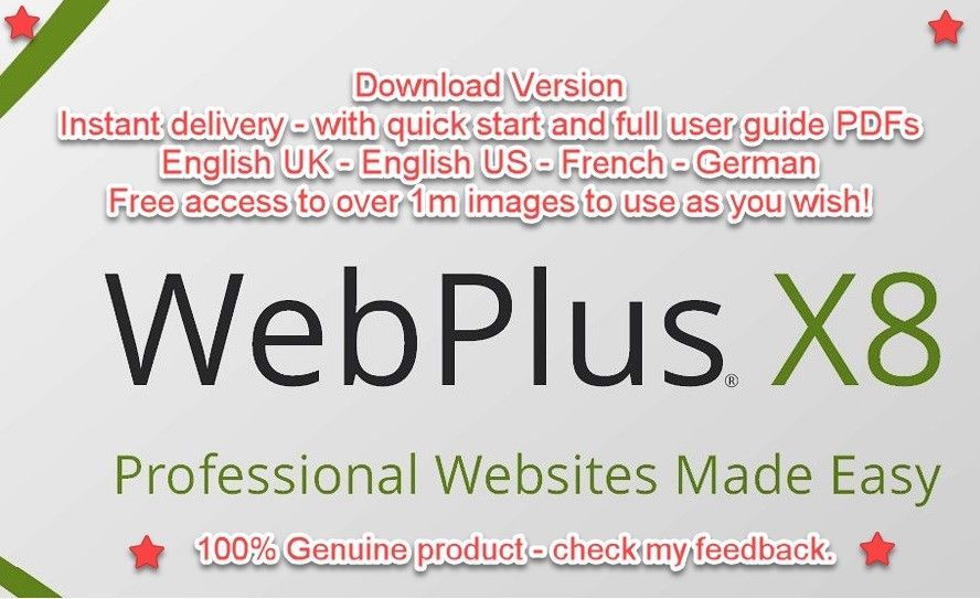 serif webplus x8 templates download
