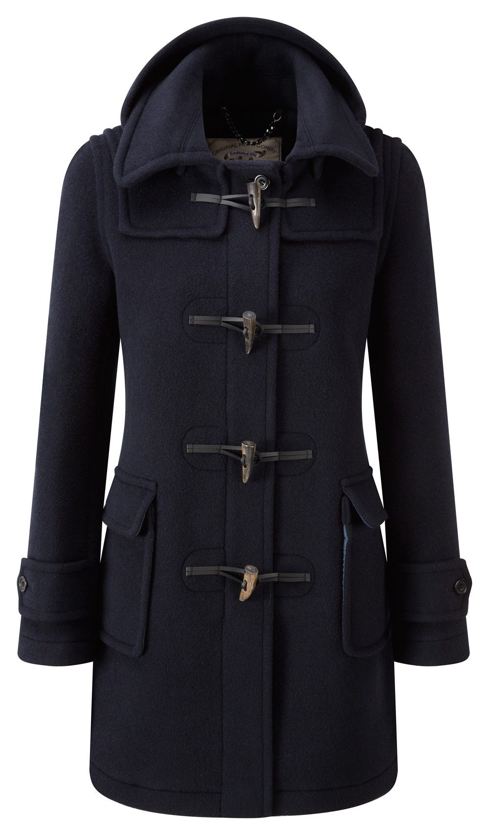 Womens London Duffle Coat -- Navy | Vague attempts at personal ...