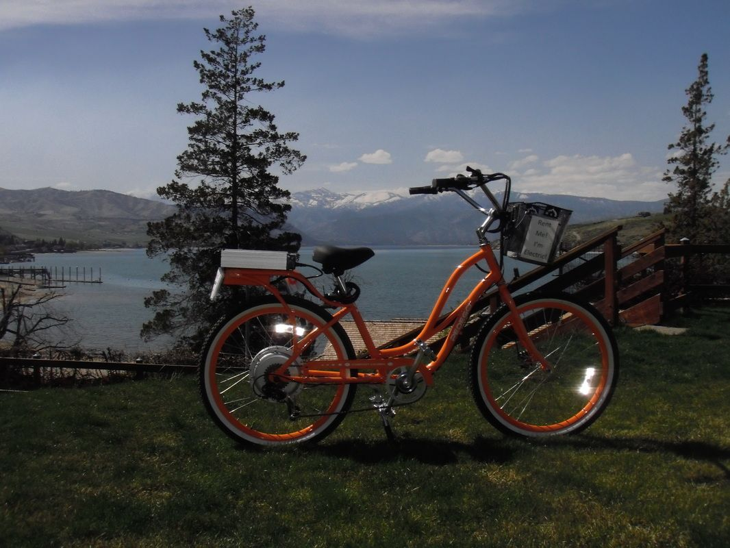 One Of The Stops On Our Magical Electrical Bicycle Tour Www Chelanelectricbikes Com Best Electric Bikes Electric Bike Electric Bicycle