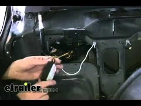 Trailer Wiring Harness Installation - 1997 Jeep Cherokee ... on