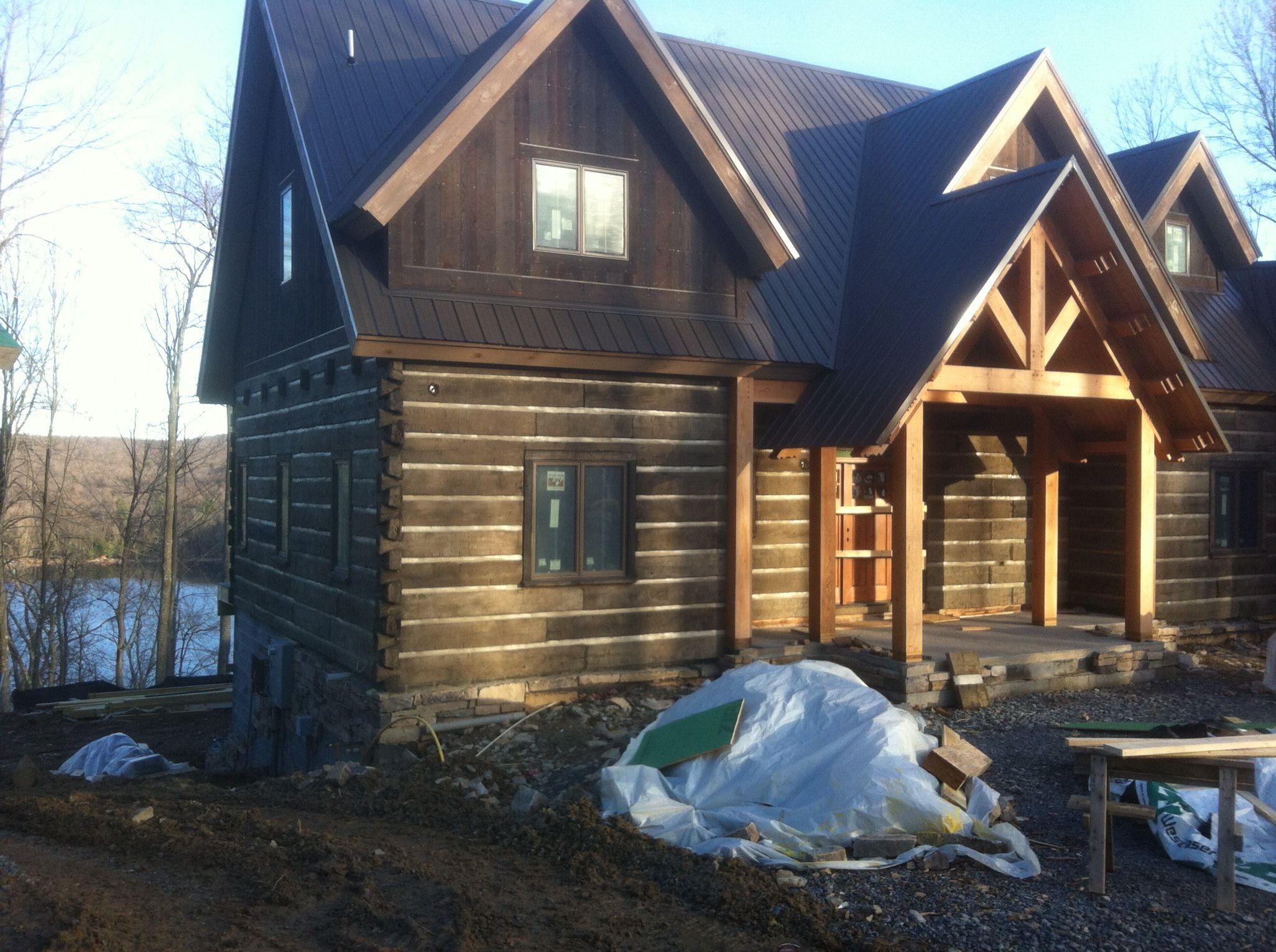 Patented And Maintenance Free Concrete Log Siding Log