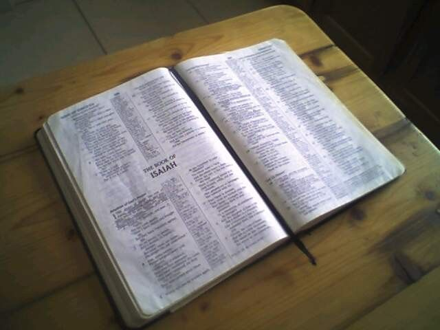 What good is a closed Bible?