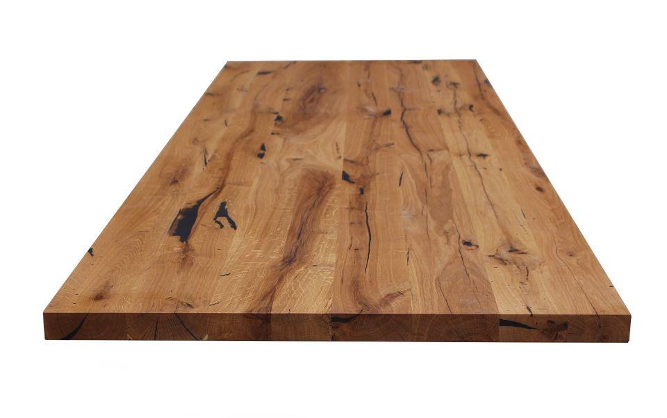 Tischplatten aus Altholz Eiche | Für Tische | Treppenstufen