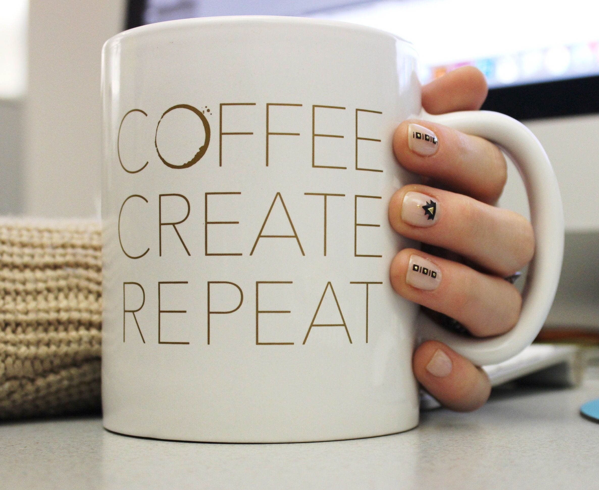 Coffee. Create. Repeat.