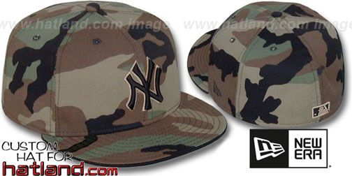 Yankees Army Camo Bny Fitted Hat By New Era Fitted Hats New York Yankee Hat Yankees Fitted Hat