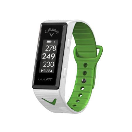 Callaway GolFIT GPS Band, White | Products | Track workout