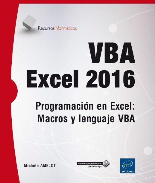 vba excel 2016 programaci n en excel macros y lenguaje vba rh pinterest co uk curso basico vba excel manual basico para el bautismo