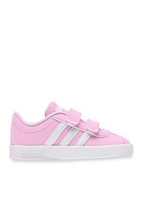 f0b51b4511e Adidas Girls  Adidas Vl Court 2.0 Cmf Trainers - Pink White - 10M Toddler