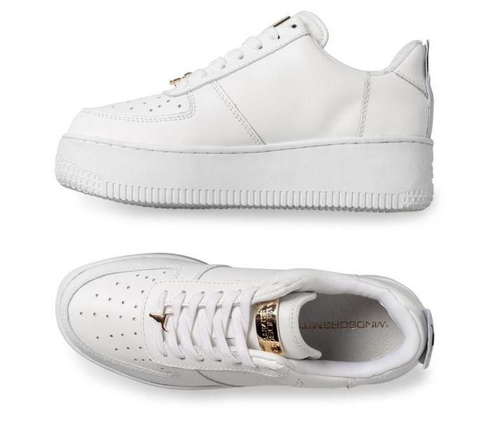 official photos 178a2 5850b Shop Windsor Smith Womens Racerr White Online   Platypus Shoes