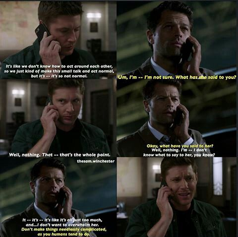 12x02 The open communication between the main three this ...