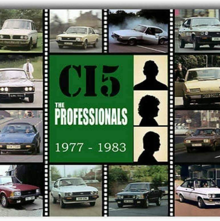 Classic British TV 📺🇬🇧 on in 2020 The professionals tv