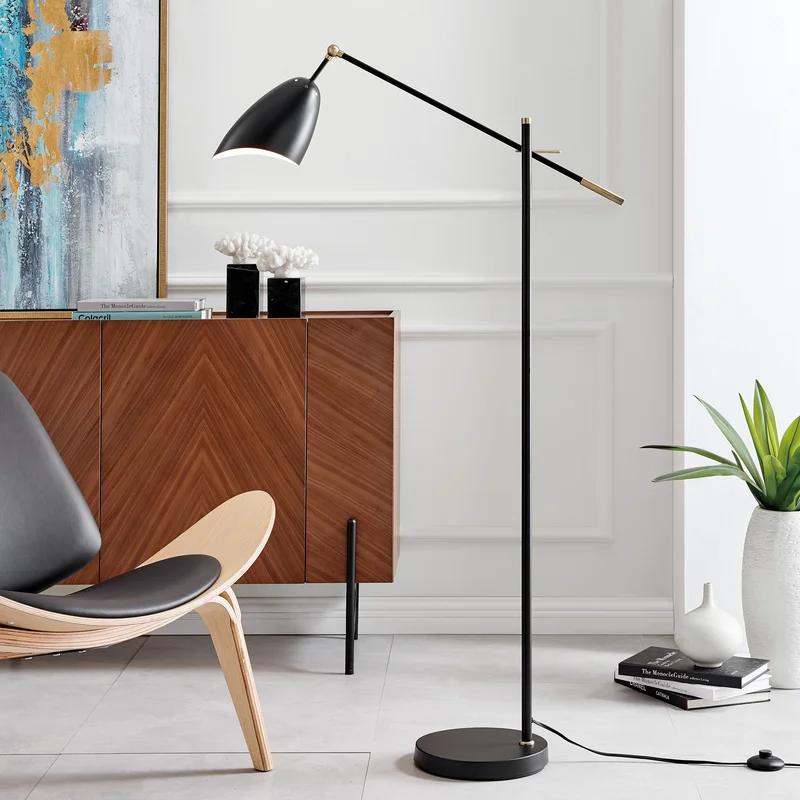 Spurrier 63 Reading Floor Lamp In 2021 Reading Lamp Floor Floor Lamp Floor Lamp Shades