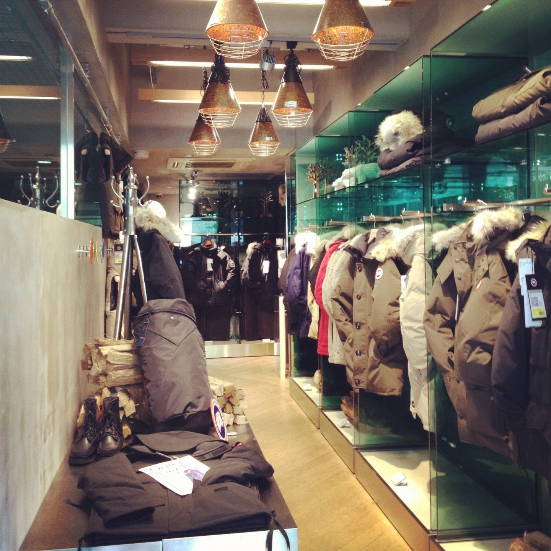 canada goose find store