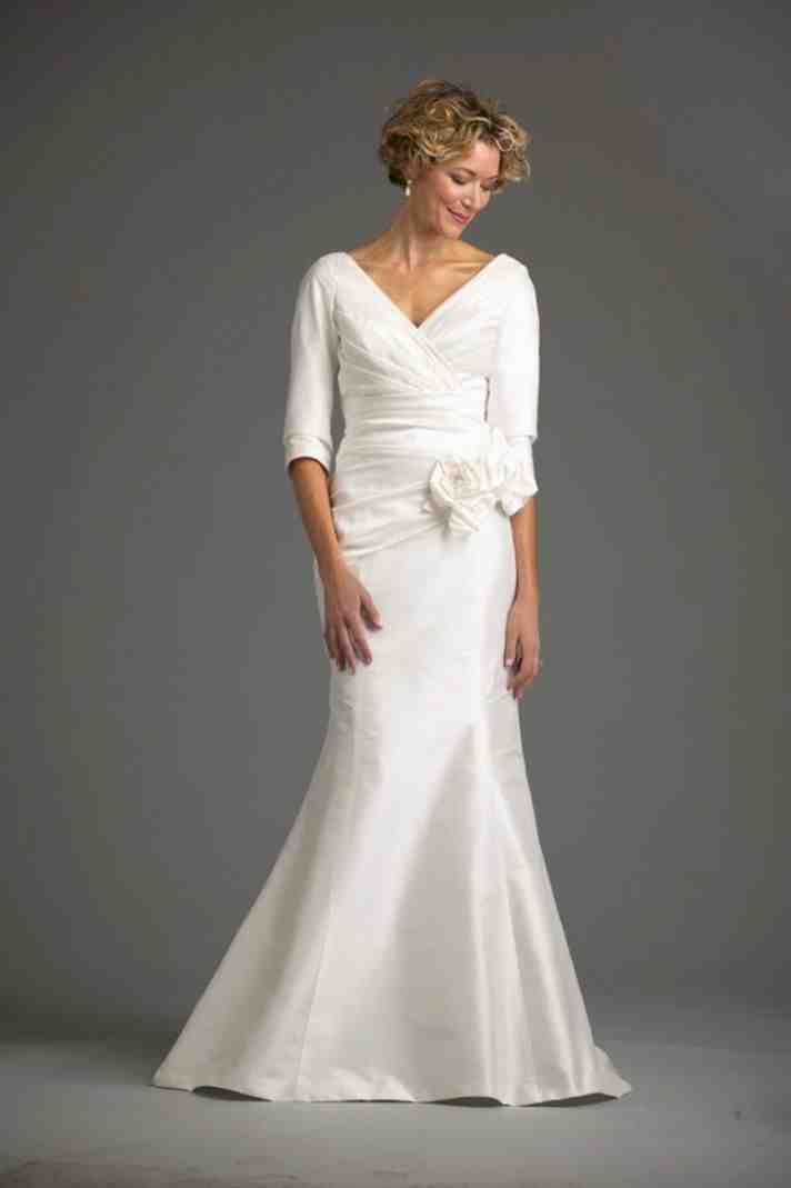 Wedding Dresses Second Marriages Older Brides   second wedding ...