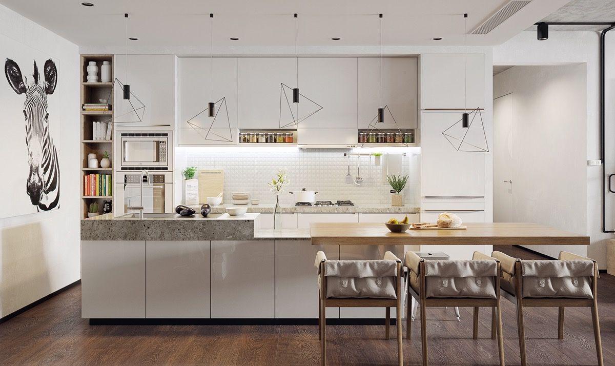 Innenarchitektur für zuhause  awesome nordic kitchen style um ihr zuhause zu verschönern