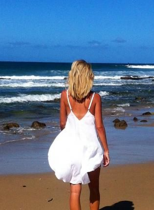 White Loose Open Back Tank Top,  Top, low back  tank top  white  casual, Chic #white #tanktop #openback #love #summer #casual #cute #fashion #style #ootd #beach www.UsTrendy.com