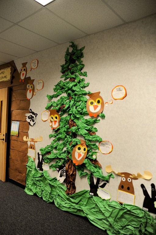 Pine Tree In The Hallway So Creative Pinteres