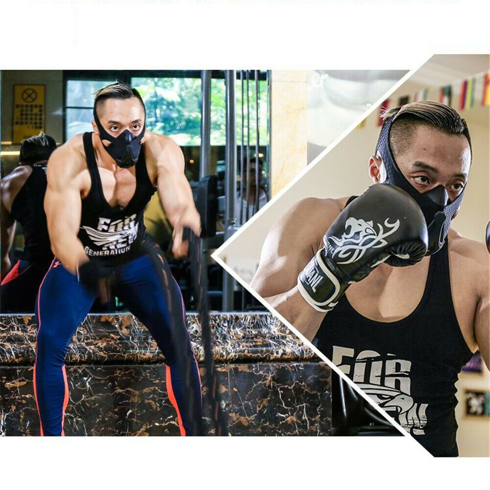 Sponsored Ebay Athletic Breathing Resistance Workout Mask High Altitude Simulation For Stamina Resistance Workout Resistance Band Workout Workout