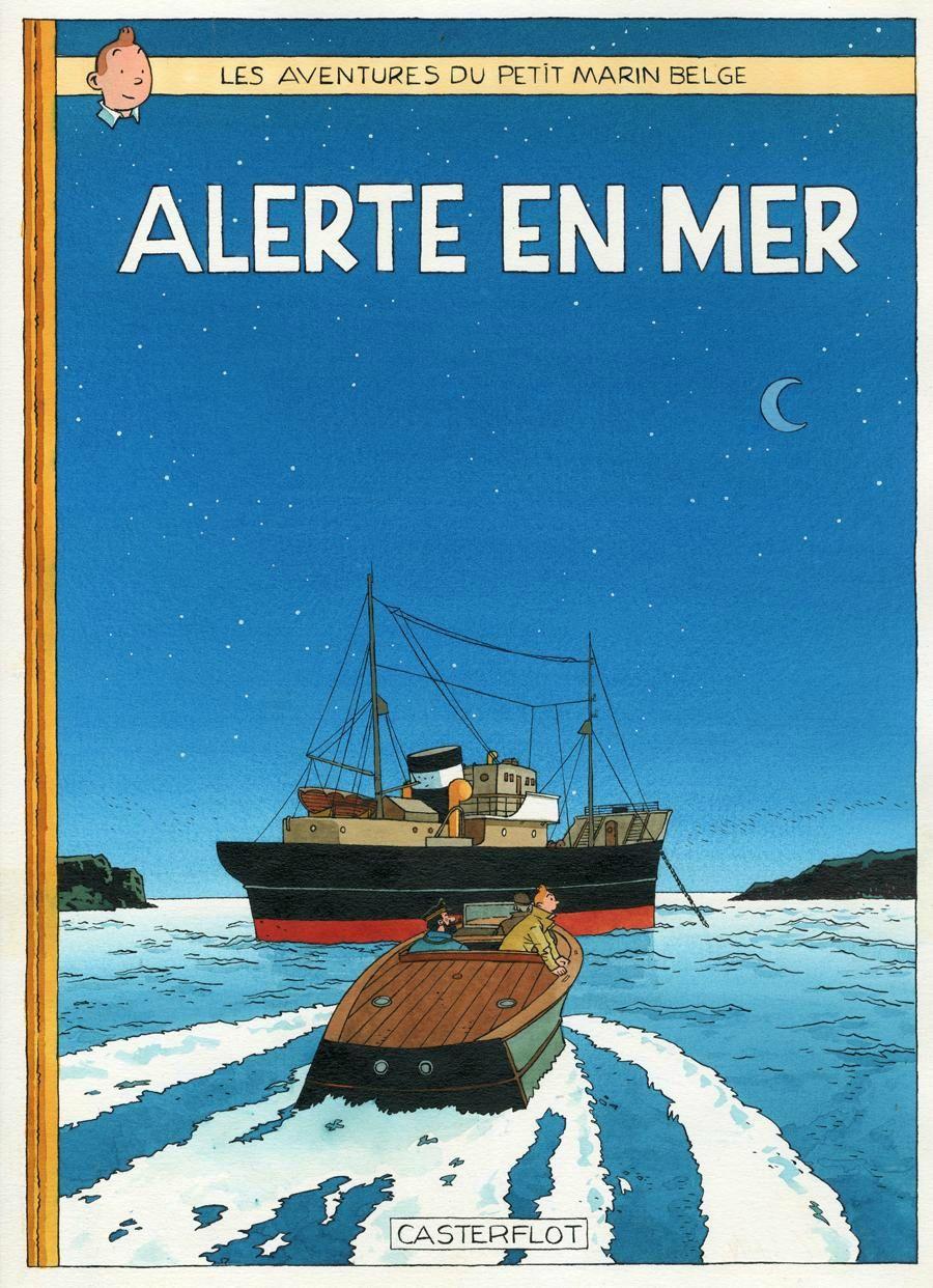 Alerte en Mer - Buque y Canoa automóvil