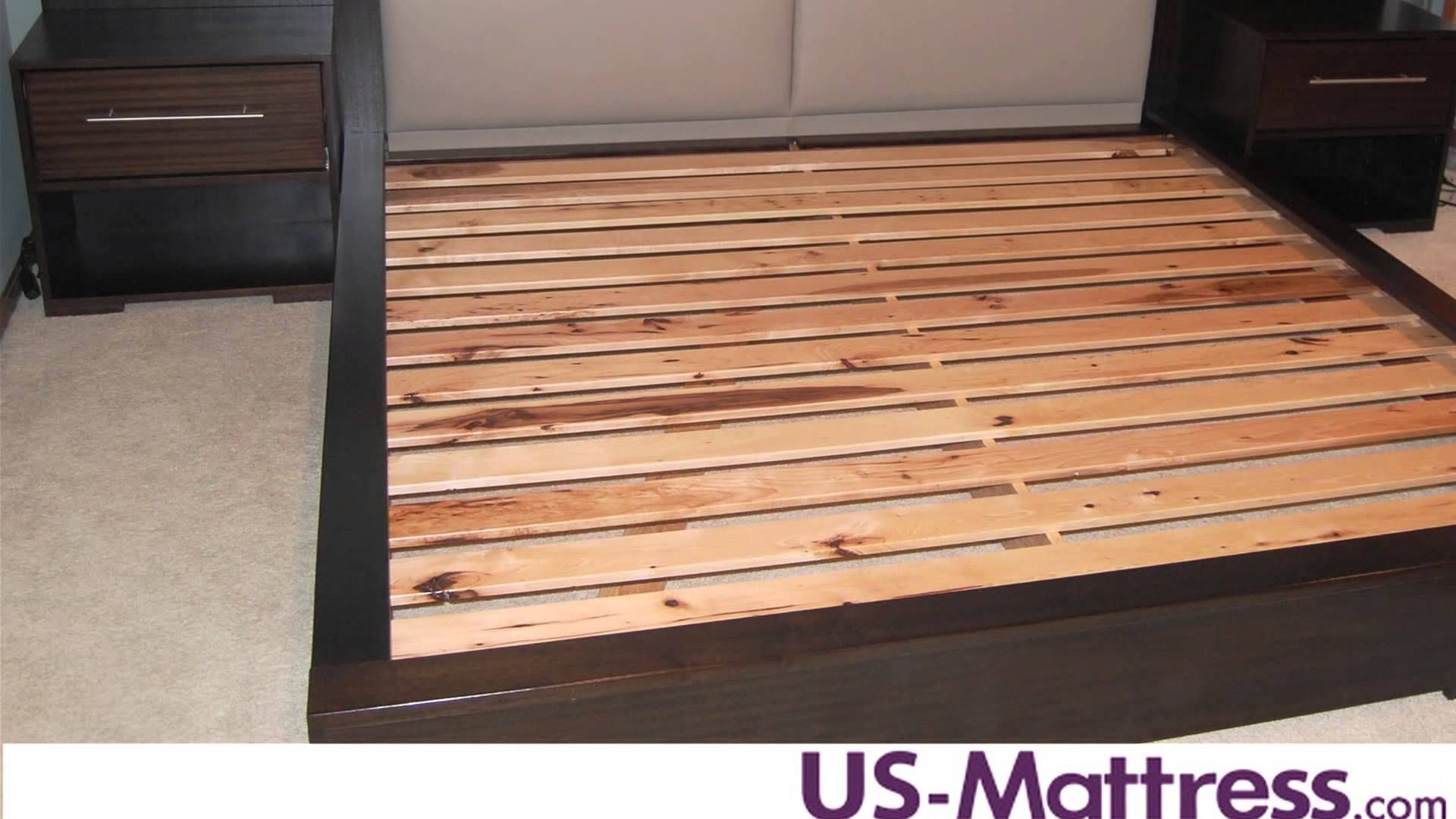How Many Slats Are Needed For Mattress Only Beds King Size Bed