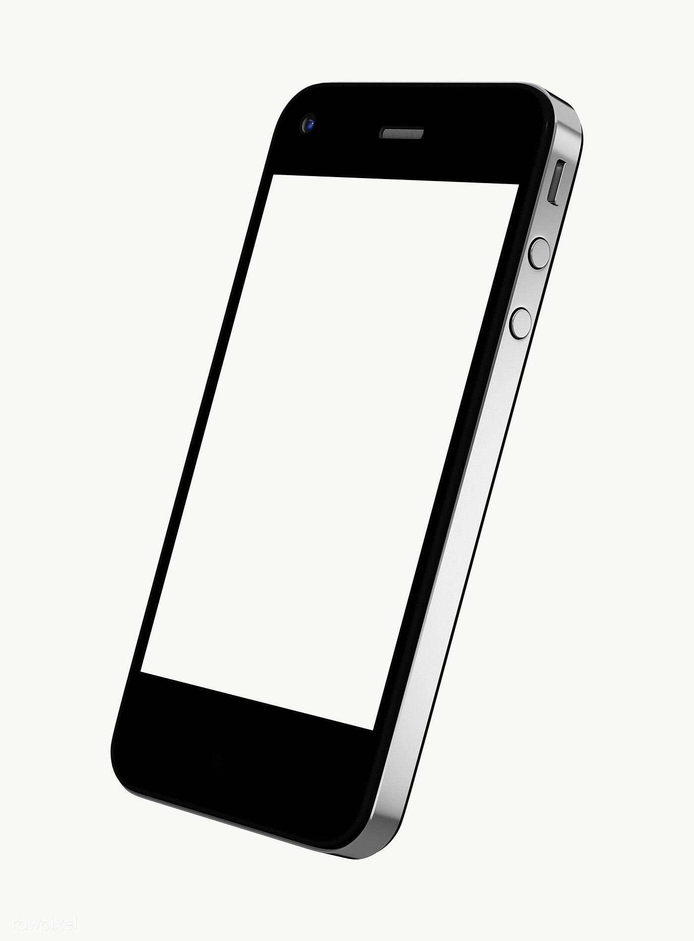 Download premium png of Three dimensional image of mobile