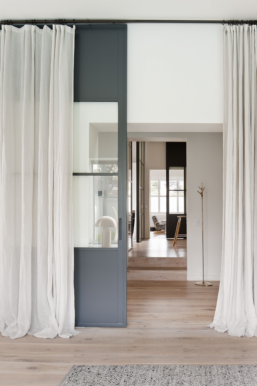 Palette L I V I N G Pinterest Interiors Long curtains and Doors